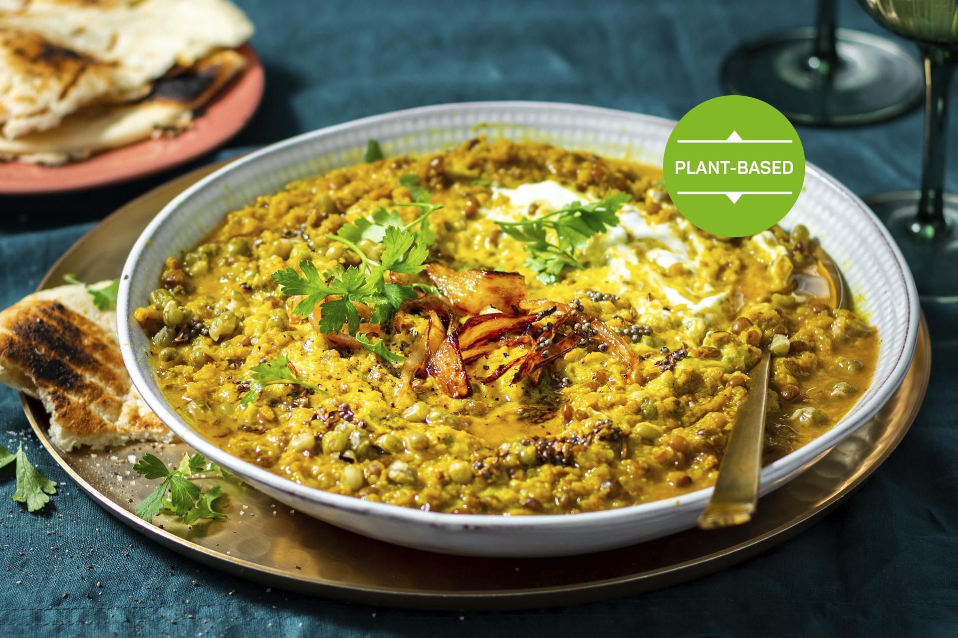 Cauliflower and mungbean kitchari